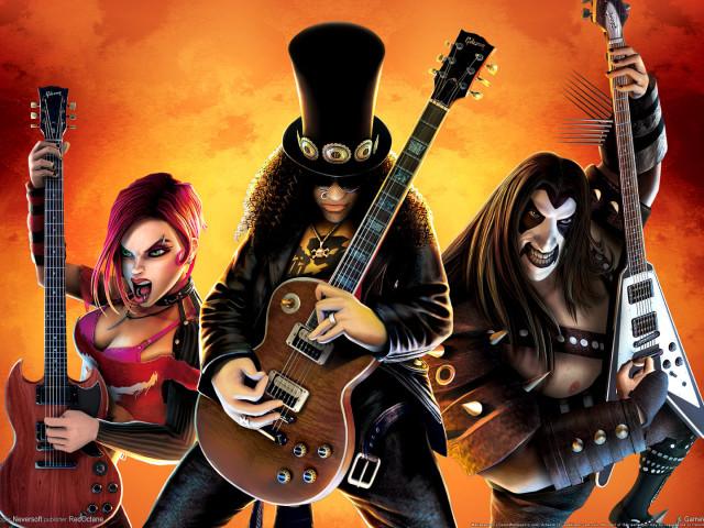 Guitar Hero 壁紙画像