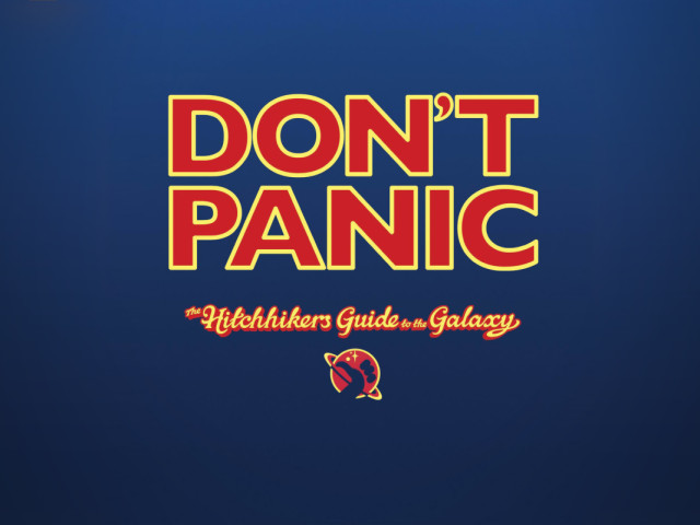 Hitchhikers Guide To The Galaxy 壁紙画像