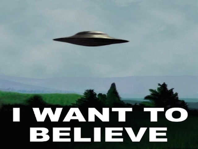 I Want To Believe 壁紙画像