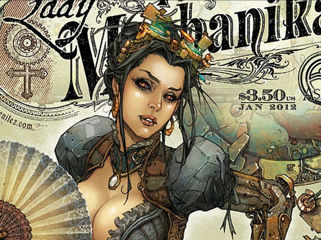 Lady Mechanika 壁紙画像