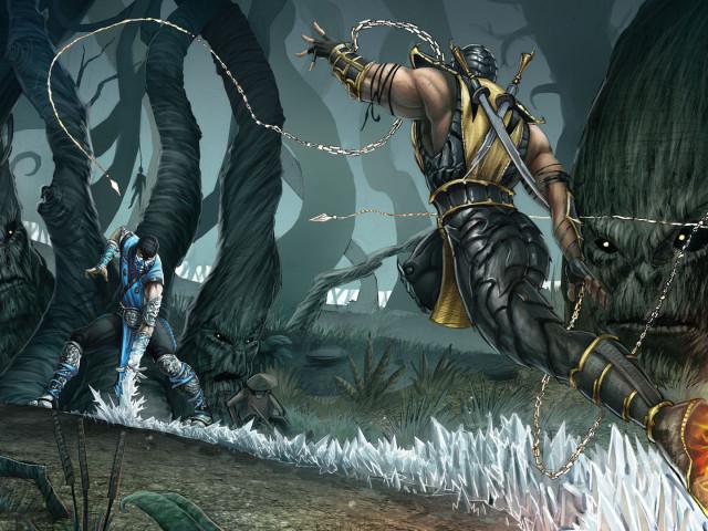Mortal Kombat 壁紙画像