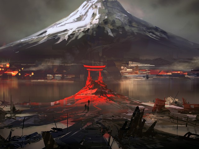 Mount Fuji 壁紙画像