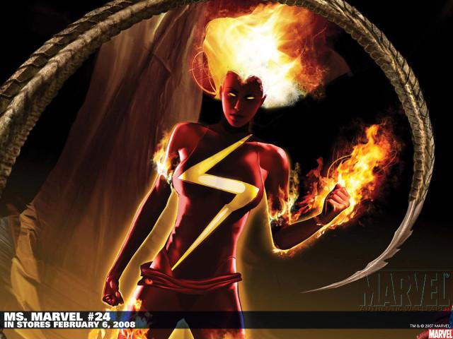 Ms Marvel 壁紙画像