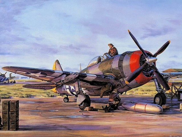 P 47 Thunderbolt 壁紙画像