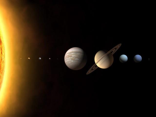 Planetary Parade 壁紙画像
