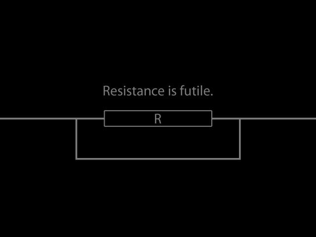 Resistance Is Futile 壁紙画像