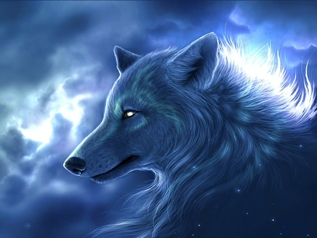 Silver Wolf 壁紙画像