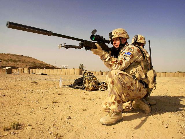 Sniper Military 壁紙画像