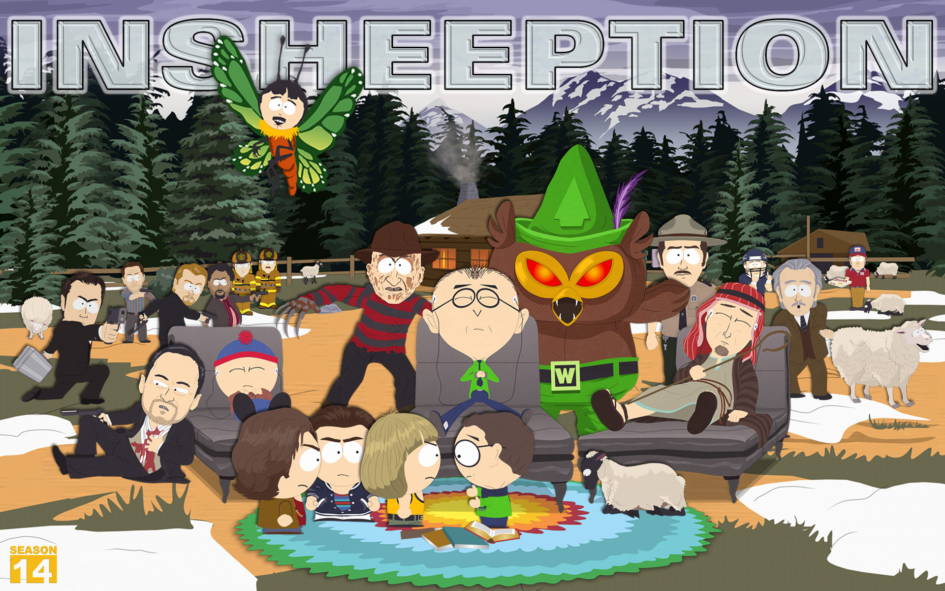 south park book essay Free essay: this satirical genius has evolved from hilarious adventures of four colorado kids into an episode a week of pure cultural parody with race.