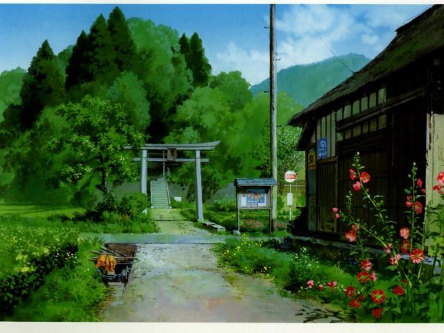 Stuido Ghibli Anime 壁紙画像