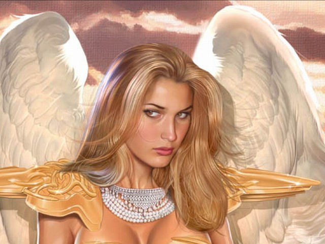 Stunning Angel 壁紙画像