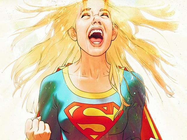 Super Girl 壁紙画像