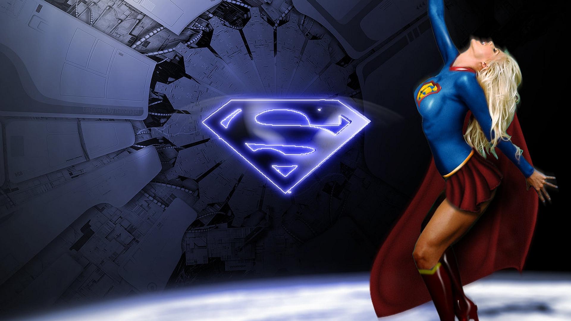 Supergirl with superman logo pchdwallpaper supergirl with superman logo pchdwallpaper pchdwallpaper voltagebd Gallery