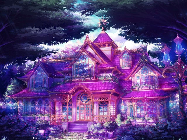 The Pink House 壁紙画像