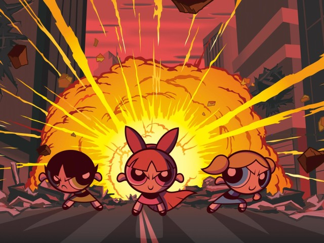 The Powerpuff Girls 壁紙画像