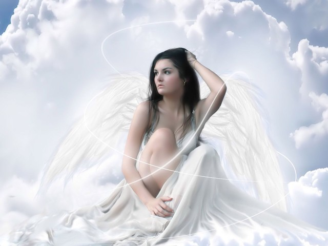 The Pretty Angel 壁紙画像