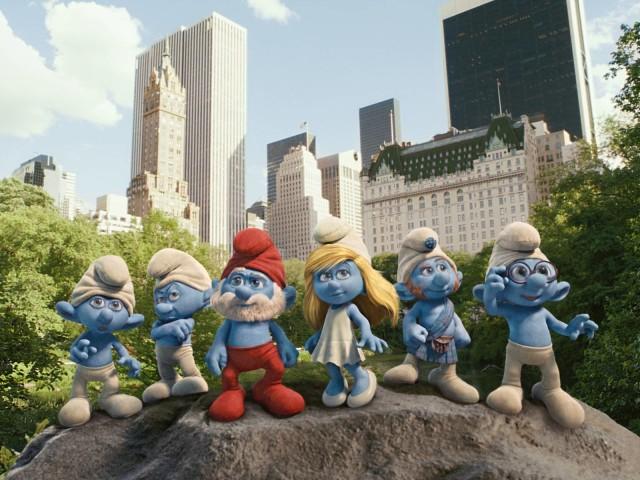The Smurfs 壁紙画像