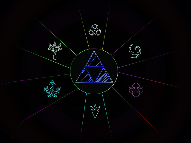 Triforce Video Game 壁紙画像