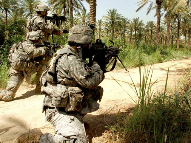 Us Infantry 壁紙画像