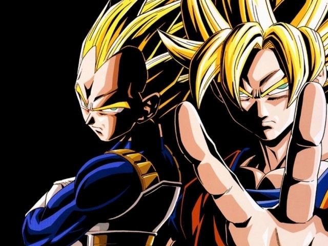 Vegeta And Gokou 壁紙画像