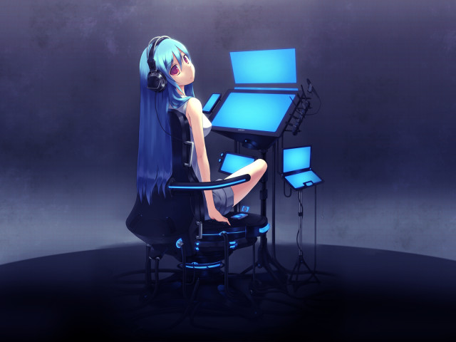 Vocaloid 壁紙画像