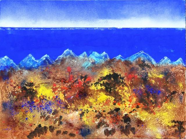 Volcanic Landscape 壁紙画像