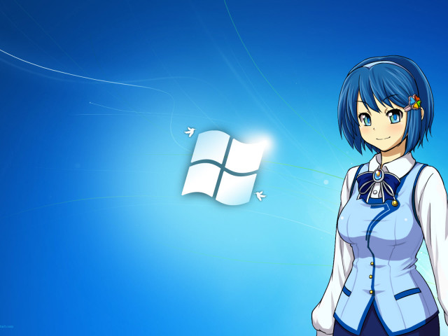 Windows Anime 壁紙画像
