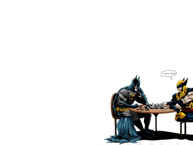 Wolverine And Batman 壁紙画像