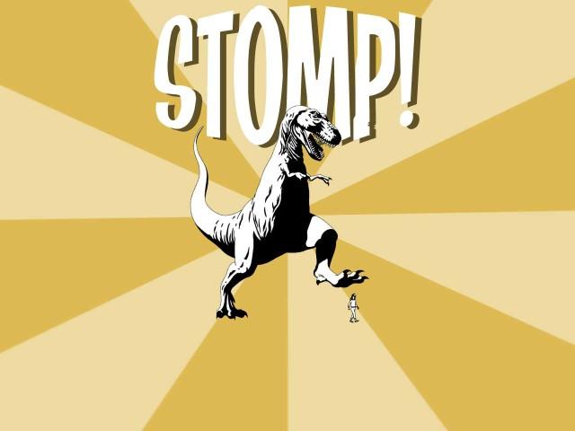 Dinosaur Stomping 壁紙画像