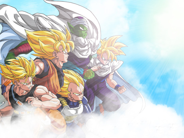 Dragon Ball Team 壁紙画像