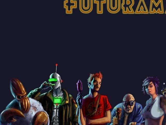 Futurama 壁紙画像
