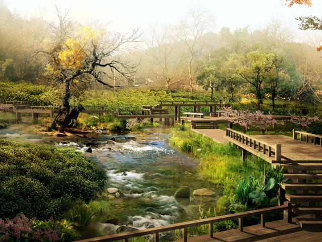 River Earth 壁紙画像