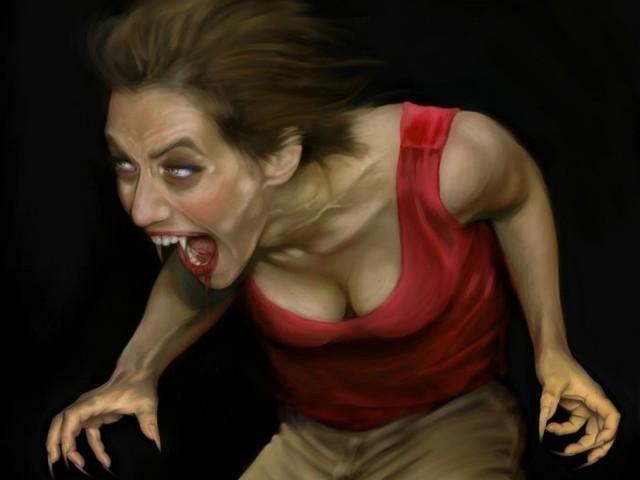 Vampire Transformation 壁紙画像