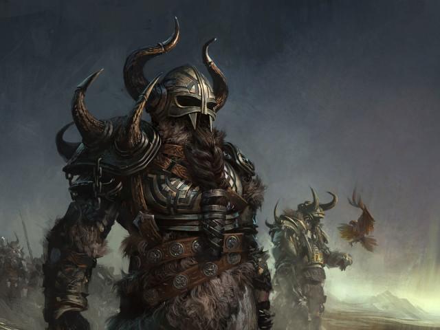 Viking Warriors Video Game 壁紙画像